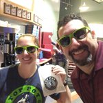 Fan food drive for @nwharvest at 3 @toppotdoughnuts locations! Make a donation, grab your #Twelfie shades. http://t.co/7tNnplLRjw