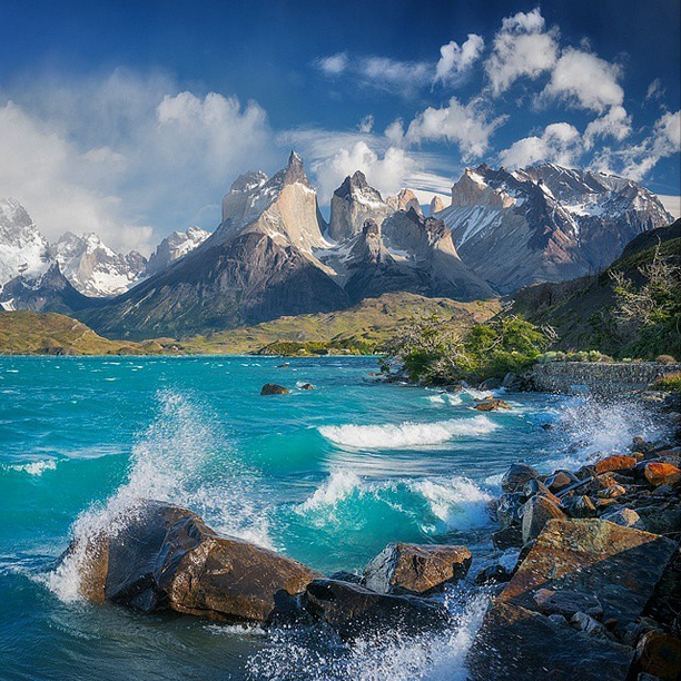 Torres del Paine, Chile Photo by Daniel Kordan http://t.co/AOhjHMpkqg