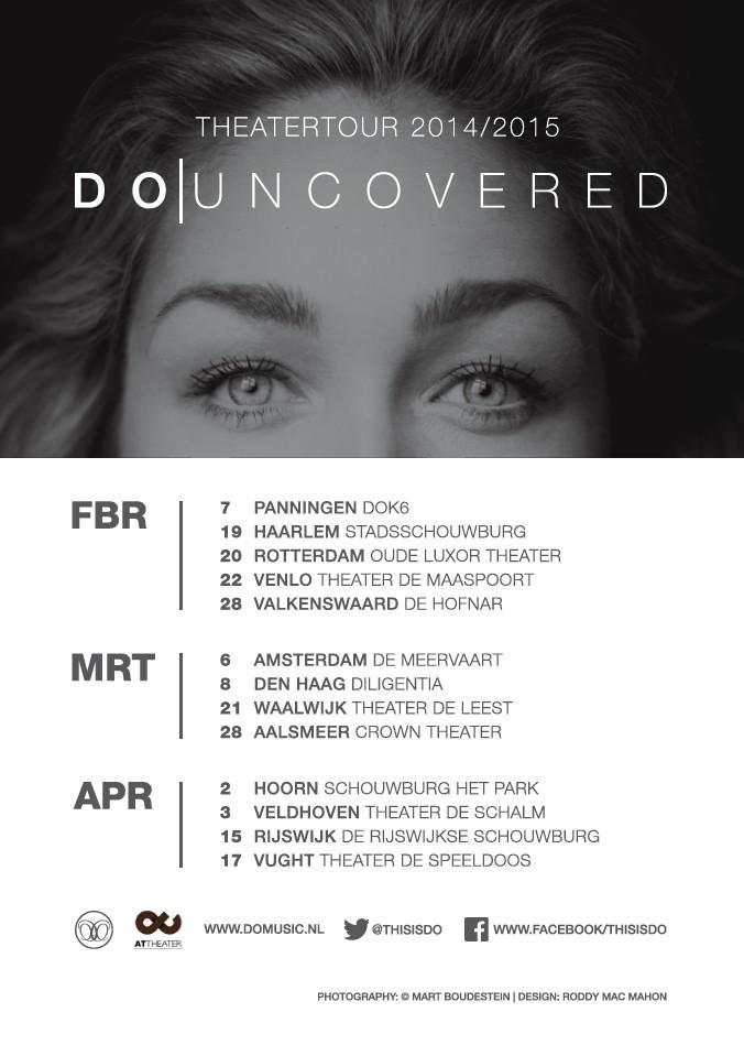 Zaterdag 7 febr. start mijn #UNCOVERED tour @DOK6Theater ! RT en maak kans op 2 kaarten voor Panningen. Tot dan! X http://t.co/CZENTCjDFe