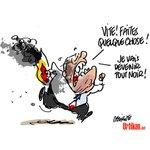 Jean-Marie Le Pen blessé dans lincendie de sa maison #dessindujour de @fdeligne #LePen #FN http://t.co/HXxXhUpNKc http://t.co/1JOCOzCItW