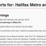 Tomorrows #nsstorm warning now a blizzard warning as of 11am: http://t.co/u0B2tLghDq  #Halifax http://t.co/d5PGp6jNvq