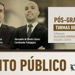 Faça Pós em Direito Público com @JE_Cardozo e Alessandro O. Soares Turmas de fevereiro http://t.co/fsQzt9YlBd http://t.co/giXK7cUL8C