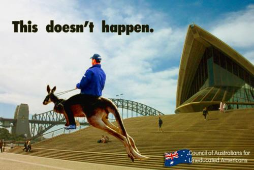 Happy Australia Day :) G'Day some Aussie Stereotypes