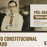Pós em Direito Constitucional Aplicado com @pedrolenza e @sigaoflavio Turmas de fevereiro http://t.co/3noz0ymp7d http://t.co/MjDVbPCmMt