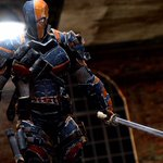 """ICYMI: DEATHSTROKE to be a """"hired assassin that is competing with the Suicide Squad"""" in the SUICIDE SQUAD. #HYPE! http://t.co/JBcNEKLV50"""