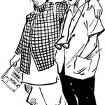The Common Man got by with a little help from his friend. #RKLaxman: 1921 - 2015. http://t.co/8O9knveVfh