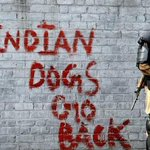 Indian dogs go back #SirajInKashmir http://t.co/RoEY3Ueie2