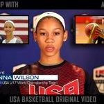 VIDEO: Catching Up w Anna Wilson - @DangeRussWilsons sister on hard work & focus. (WATCH: http://t.co/RlHc08VbqK) http://t.co/uP2IErk5En