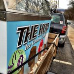 Delivering this freezer from The @HopIceCreamery to @KatuahMarket for the Grand Opening tomorrow, 12-3pm! #Asheville http://t.co/hjaFXj15fk