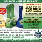 @vivianmcpeak is signing #Protestival at the University Book Store 2/22 @ubookstorereads #Hempfest #Seattle #cannabis http://t.co/v5tOewJKQZ