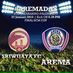 #AremaDay #AremaSFC #Final #SCMCup http://t.co/f4zfyYEfeS