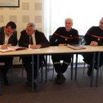 26 janvier 2015 : signature de la convention entre @pompiersdugard et @VISOV1. Partenariat au profit du citoyen. http://t.co/H5qmGXI0MX