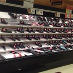URGENT: #hoboken dont panic about #Blizzard2015 unless you need meat...#shoprite is out. http://t.co/6PJc5nKFfs