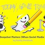 """@thehundreds: @bobbyhundreds walks us through why Snapchat matters... // http://t.co/PblFOSTuNb http://t.co/tEA6JQaZDq"""
