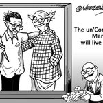 #RIPCommonMan | Being RK Laxman: Legendary cartoonist, creator of Common Man, passes away http://t.co/Nq2z7iAIve http://t.co/6OjG4WPgBg