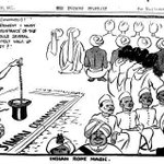 1928 :: Boycott of Simon Commission by Indian Negotiators (Cartoonist - David Low) http://t.co/7Tud6WdLFB