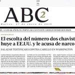 #ULTIMAHORA El escolta de Diosdado Cabello lo acusa de narcotrafico y se va a EEUU para ser testigo protegido http://t.co/nVy0XjanmG