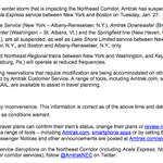Amtrak suspends New England service Tuesday -- including between Albany and NYC http://t.co/oAoOfVXWmF