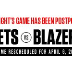 Reminder: Tonights @brooklynnets game is postponed due to weather, rescheduled for 4/6: http://t.co/FagD2JgUVY http://t.co/WVTi0Wk5K0