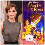 エマ・ワトソンがディズニーアニメ『美女と野獣』のライヴアクション作品で主人公ベル役を演じることが決定! http://t.co/vuDI0BbVAp