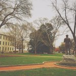 UGAs founding father watches over campus as the university celebrates its 230th anniversary. #UGATurns230 http://t.co/mG6XEBFwjq