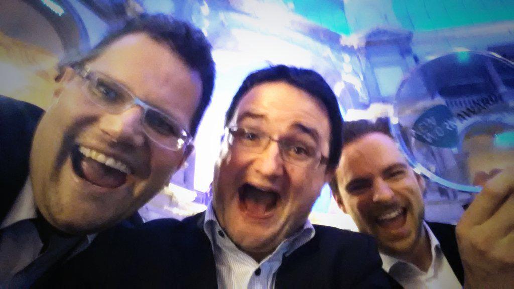 #NewWorkAward: @deutschetelekom ist No.1: Jaaaaaaaaaaaa / @alexluyken und @dillinger4010 / #telekomwall http://t.co/oswXlwSH2c