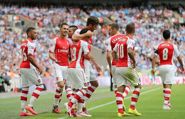 Arsenal have more different goalscorers than any other Premier League team (18) this season. One man team? http://t.co/o33EeJdrmf