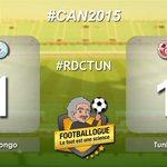 [#CAN2015] #RDCongo 1-1 #Tunisie 65 ÉGALISATION DE BOKILA !!! #RDCTUN http://t.co/f293hrtjWi