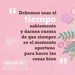 La diputada Rosalinda López entiende la importancia de levantar siempre el ánimo de los tabasqueños. Buenos mensajes http://t.co/9hJ9CMQspo