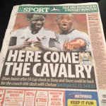 Here is todays back page of the @MENnewsdesk shows how much we have missed @YayaToure good read @StuBrennanMEN @MCFC http://t.co/iprDVsj56x