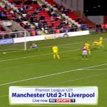 Good game here, its #MUFC U21s 2 - 1 #LFC U21s. Live now on Sky Sports 1: http://t.co/aRTEzN4z8N