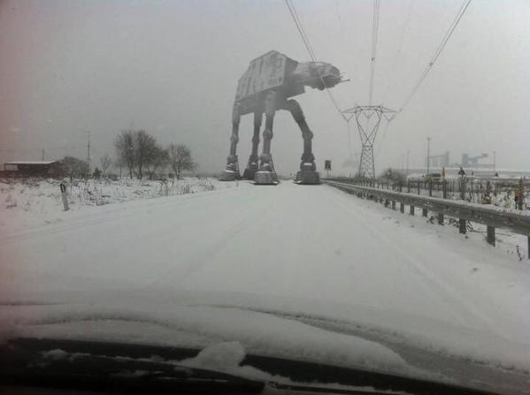 Boston driving issues in the Blizzard. Photo via @davehonig http://t.co/l4kbNfYQmt