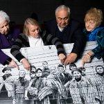 Auschwitz survivors wth image takn 70 years ago when camp was freed via @MailOnline http://t.co/4ivnyslJlN http://t.co/QwuXJzcVy8 #niewieder