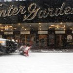 You know its serious when #Broadway closes. #snowpocalypse http://t.co/Yl78Ls6YFQ