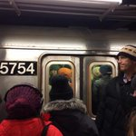 Subway commute home a nightmare already @WNYC #snowpocalypse http://t.co/5qPYsfFcga