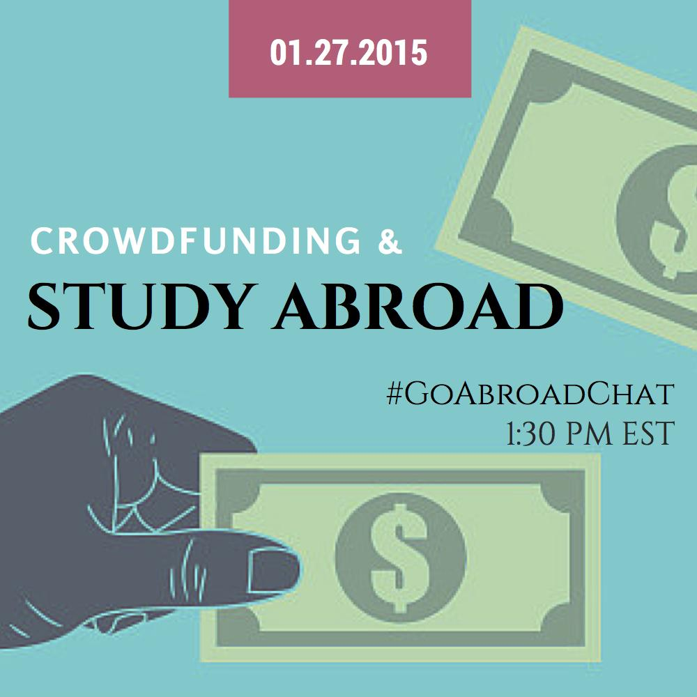 Join us tomorrow for #GoAbroadChat at 1:30PM EST to talk #crowdfunding and #studyabroad! http://t.co/SNGFQ7DJtY