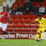 Photos from tonights U21s victory against Liverpool U21s #MUFC. http://t.co/O2AdsaP06v