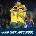 ITS game day. You can do it @Socceroos! Hope to see you here Saturday! Tix to #AC2015 Final: http://t.co/kTX2lCmhNx http://t.co/ynMMgJuE4Z