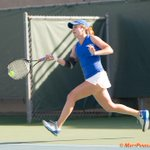 .@GatorZoneWTNs @mjtennis7 races for forehand shot v @TerpsTennis #ItsGreatUF More Pix: https://t.co/w0hDp9BmCL http://t.co/CXdWjQx6U7