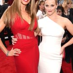 Sofia Vergara cant keep her hands off Reese Witherspoons booty at the #SAGAwards! http://t.co/Vuq6p9VlWb http://t.co/Rb9fBZsWrE