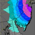 """Per @NWS_MountHolly 8-10"""" for #Philly. """"@GarySzatkowski: new amounts trended lower, but lots of double digits on map http://t.co/GzybSlmExD"""""""