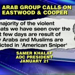 Group: American Sniper Leading to Death Threats Against Muslims http://t.co/IoRoldSgZV @megynkelly #KellyFile http://t.co/k83nnaeSDW