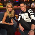 This snow wont keep @KChenoweth & me from asking what happened w/ @TomSandoval1 & #MiamiGirl - see you at 11 #WWHL http://t.co/0FIWUX4kqj