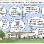 Cartoon of the Day: Matt Golding with Coalition MPs fresh, new political year #auspol #reset http://t.co/HrWJzZ0ncV http://t.co/HbbRM4czEL