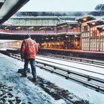 Snow removal is ongoing at Woodside Station - stay safe out there! Photo by caity_cakes_ @MTA #blizzardof2015 http://t.co/mREaGGROQM