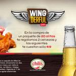 Sabes que estás haciendo algo bien cuando llegas a @CHILISMEXICO ¡y hay chelas gratis! http://t.co/LcdR5niSKJ http://t.co/nLEaKwTmJw