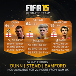 FA Cup heroes #MOTM Stead, Bamford, and Dunn now available for 24hrs! http://t.co/EjKHjMkNXl
