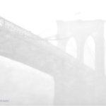 Brooklyn Bridge in snowy silhouette today in #NYC. #blizzardof2015 #snow http://t.co/QUfaYKfbLM