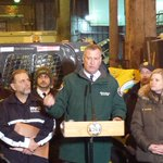 Mayor & Comm. Garcia say @ 6:30 pm 2300 + salter/plow vehicles out clearing NYCs 6,000 miles of roads. #SafeNYC. http://t.co/VuPq91n55D