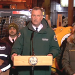 """.@BilldeBlasio: """"This is literally the calm before the storm."""" http://t.co/DKQHNMXOSv #blizzardof2015 http://t.co/xswl1sxisp"""
